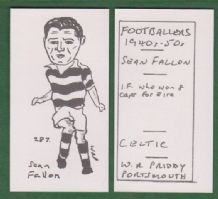 Glasgow Celtic Sean Fallon Eire 287